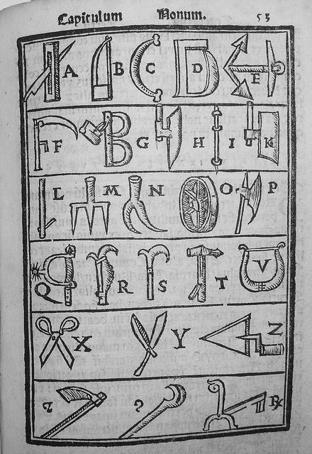 Romberch's visual alphabet.